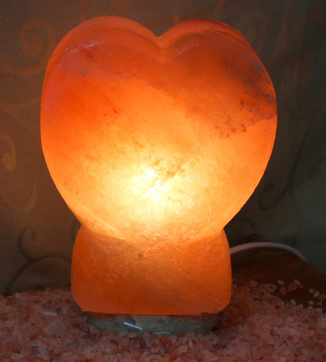Salt Lamps Care : Heart Salt Lamp Himalayan Salt Factory