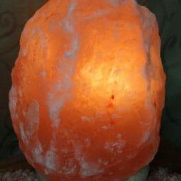 9-12kg Natural Shaped Himalayan Salt Lamp Marble Base | Himalayan Salt Factory