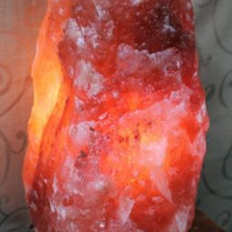 15-20kg Natural Shaped Himalayan Salt Lamp Marble Base | Himalayan Salt Factory