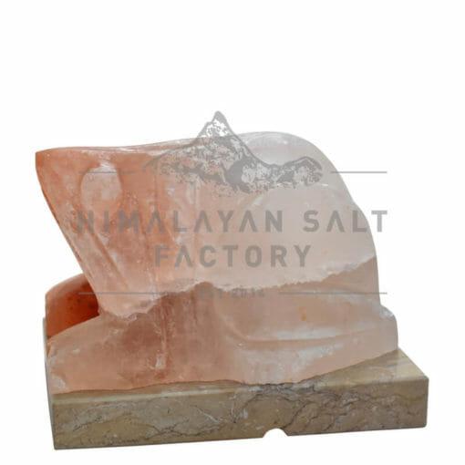 Crafted Himalayan Frog Salt Lamp   Himalayan Salt Factory