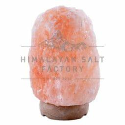 3-5kg Natural Shaped Himalayan Salt Lamp Marble Base   Himalayan Salt Factory