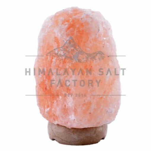 3-5kg Natural Shaped Himalayan Salt Lamp Marble Base | Himalayan Salt Factory