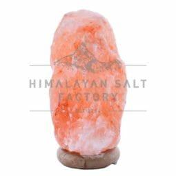 7-9kg Natural Shaped Himalayan Salt Lamp Marble Base | Himalayan Salt Factory