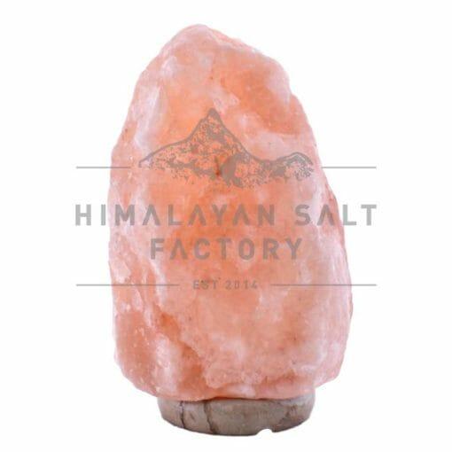 9-12kg Natural Shaped Himalayan Salt Lamp Marble Base   Himalayan Salt Factory