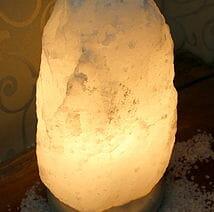 7-9kg White Himalayan Salt Lamp | Himalayan Salt Factory