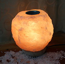Himalayan Natural Shaped Oil Salt Lamp | Himalayan Salt Factory
