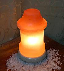 Crafted Himalayan Lighthouse Salt Lamp | Himalayan Salt Factory