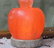 Himalayan USB Apple Salt Lamp | Himalayan Salt Factory