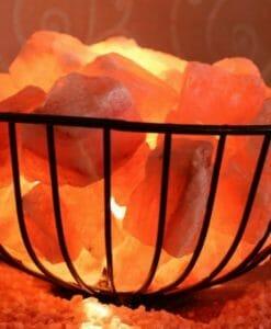 Himalayan Salt Firebowl Lamp | Himalayan Salt Factory