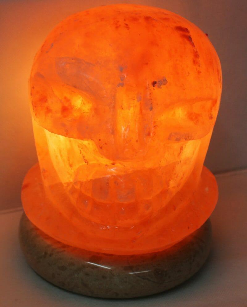 Skull Salt Lamp Himalayan Salt Factory