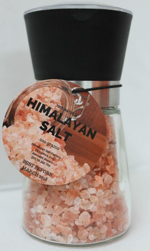 Himalayan Salt Glass Grinder (Refillable) | Himalayan Salt Factory