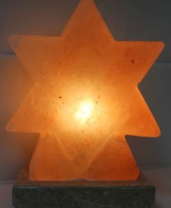 Crafted Himalayan Star Salt Lamp | Himalayan Salt Factory