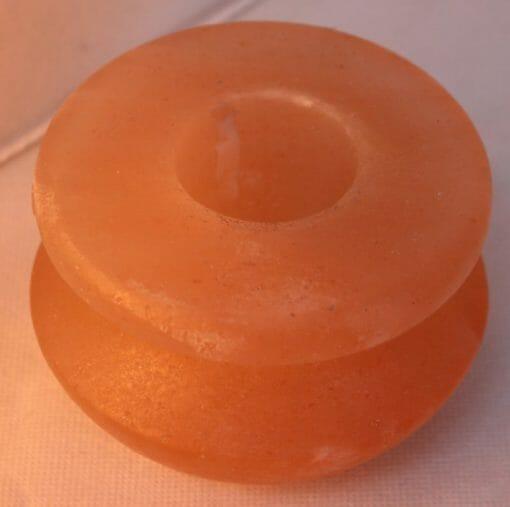 Himalayan Salt Pot Shaped Tealight Candle Holder   Himalayan Salt Factory