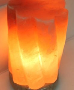Crafted Himalayan Swirl Salt Lamp | Himalayan Salt Factory