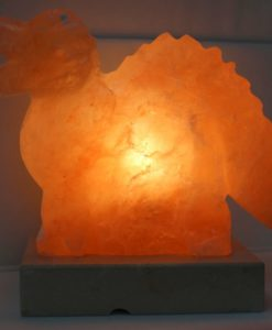 Crafted Himalayan Dinosaur Salt Lamp | Himalayan Salt Factory