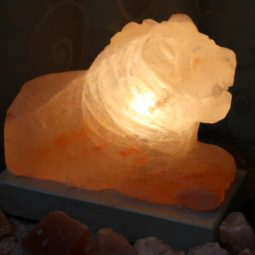 Crafted Himalayan Lion Salt Lamp | Himalayan Salt Factory