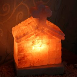 Crafted Himalayan Church Salt Lamp | Himalayan Salt Factory