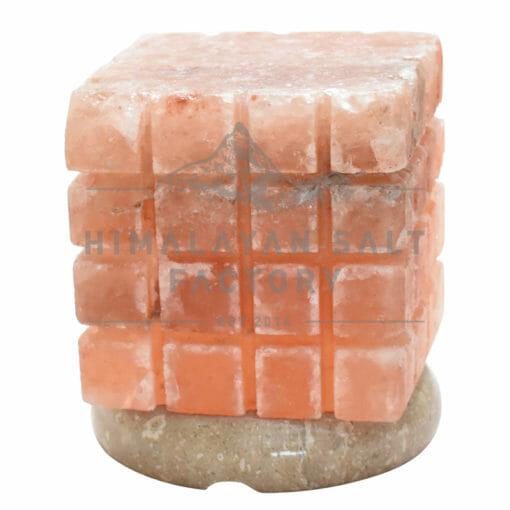 Crafted Himalayan Cube Bricked Salt Lamp | Himalayan Salt Factory