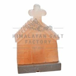 Crafted Himalayan Church Salt Lamp   Himalayan Salt Factory