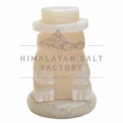 Crafted Himalayan Snowman Salt Lamp | Himalayan Salt Factory