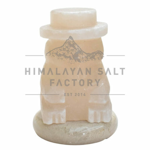 Crafted Himalayan Snowman Salt Lamp | Himalayan Salt Factory
