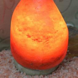 Crafted Himalayan Flame Salt Lamp   Himalayan Salt Factory