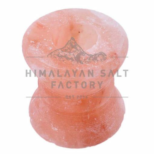Himalayan Salt Goblet Shaped Tealight Candle Holder | Himalayan Salt Factory