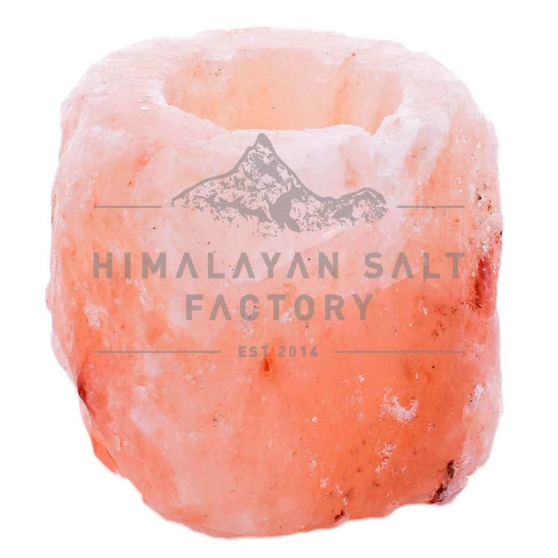 Himalayan Salt Natural Shaped Tealight Candle Holder | Himalayan Salt Factory