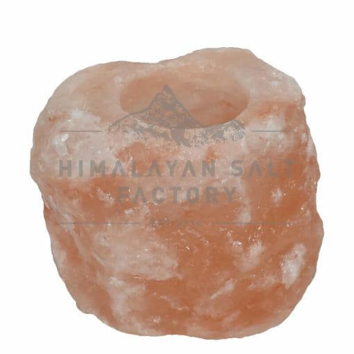 Himalayan Salt Natural Shaped Tealight Candle Holder   Himalayan Salt Factory