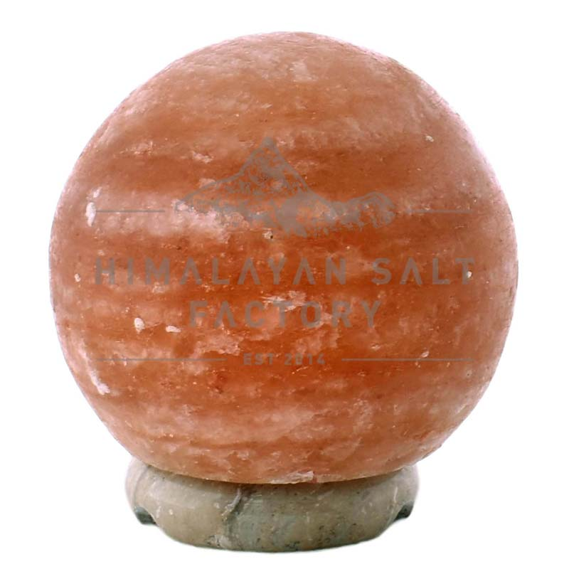 Sphere Salt Lamp (6u201d Small)   Himalayan Salt Factory