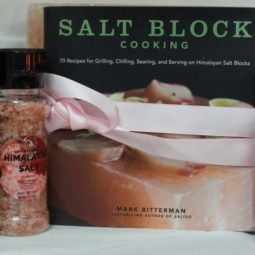Himalayan Salt Cooking Block Large with Grinders | Himalayan Salt Factory