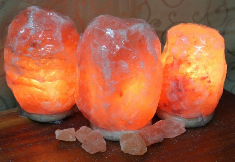 3x 3-5kg Himalayan Salt Lamp Pack Himalayan Salt Factory