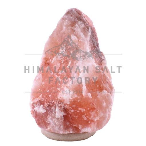 12-15kg Natural Shaped Himalayan Salt Lamp Marble Base | Himalayan Salt Factory