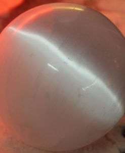 Crafted Selenite Sphere 8cm | Himalayan Salt Factory