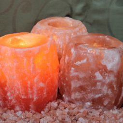 Himalayan Salt Tealight Candle Holder Pack | Himalayan Salt Factory