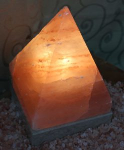 Himalayan Salt Pyramid Lamp | Himalayan Salt Factory