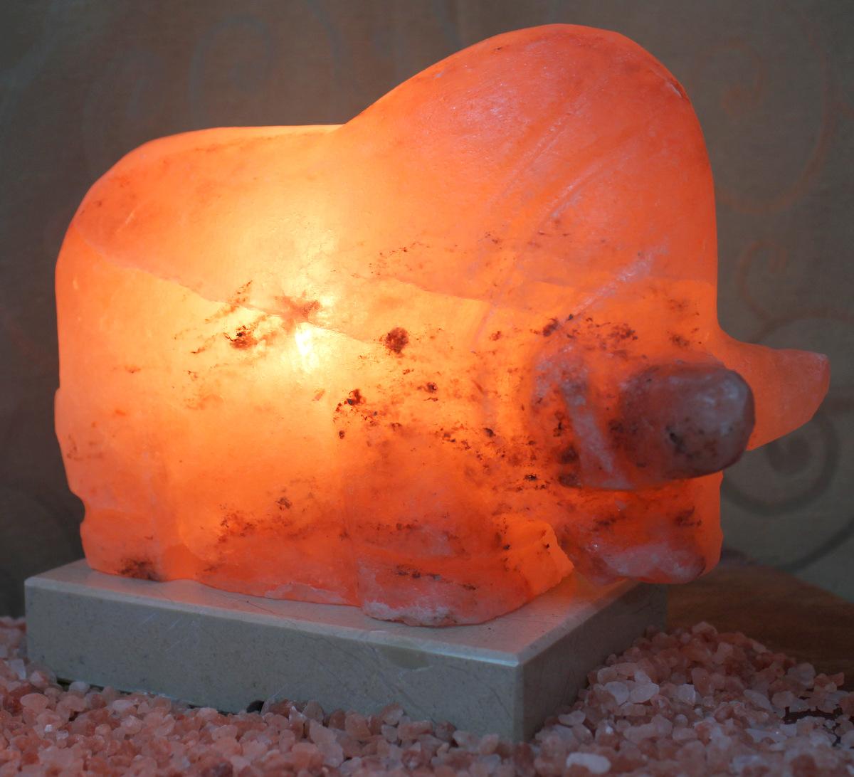 Bull Salt Lamp Himalayan Salt Factory