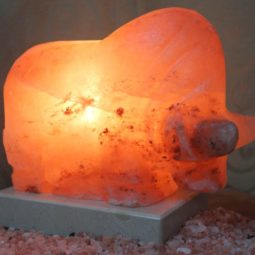 Crafted Himalayan Bull Salt Lamp | Himalayan Salt Factory