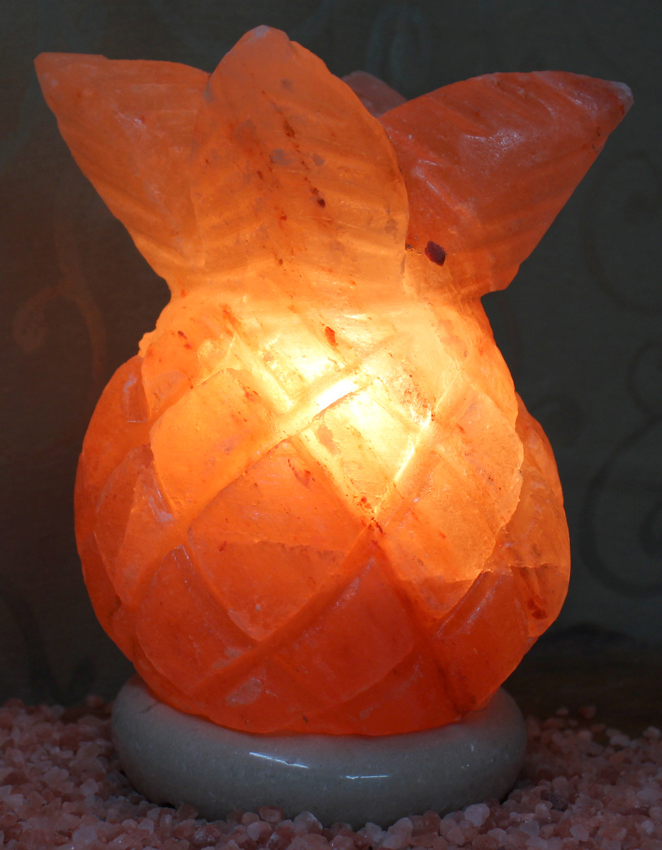 Himalayan Salt Lamp And Plants : Pineapple Salt Lamp Himalayan Salt Factory