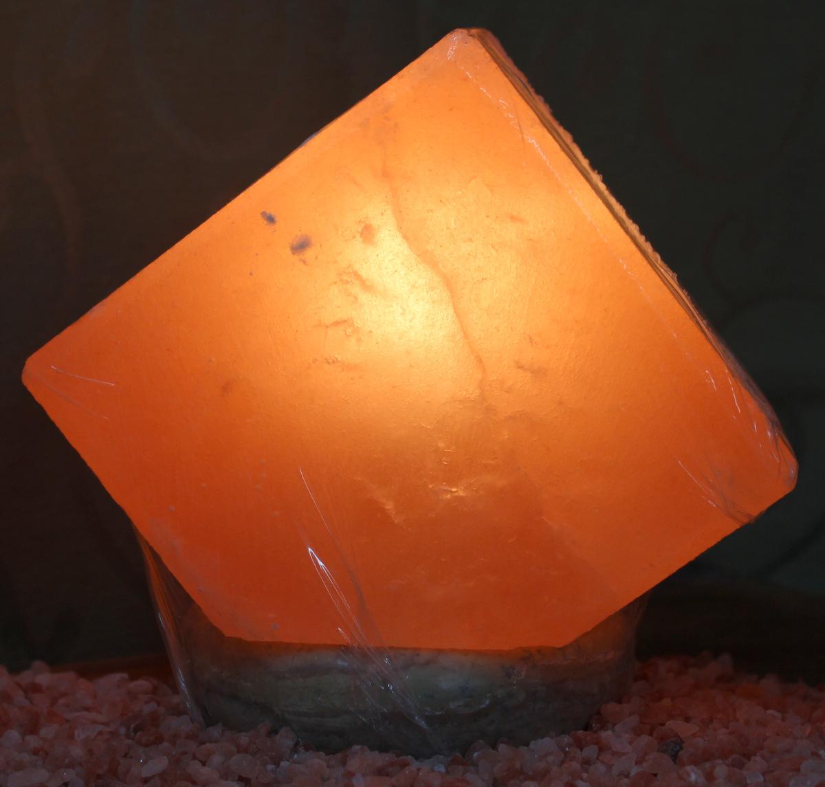 Himalayan Salt Lamps Work : Pentagon Salt Lamp Himalayan Salt Factory