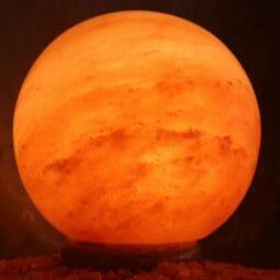 """Himalayan Salt Sphere Lamp Large 8""""   Himalayan Salt Factory"""