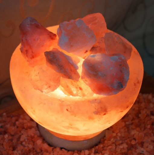 Fire Bowl Himalayan Salt Lamp (Small) | Himalayan Salt Factory