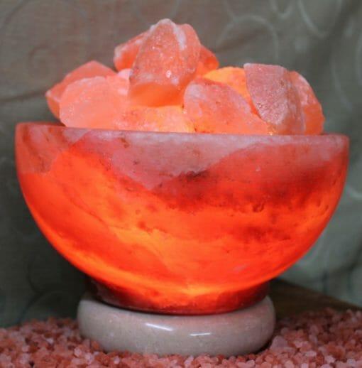 Fire Bowl Himalayan Salt Lamp (Medium) | Himalayan Salt Factory