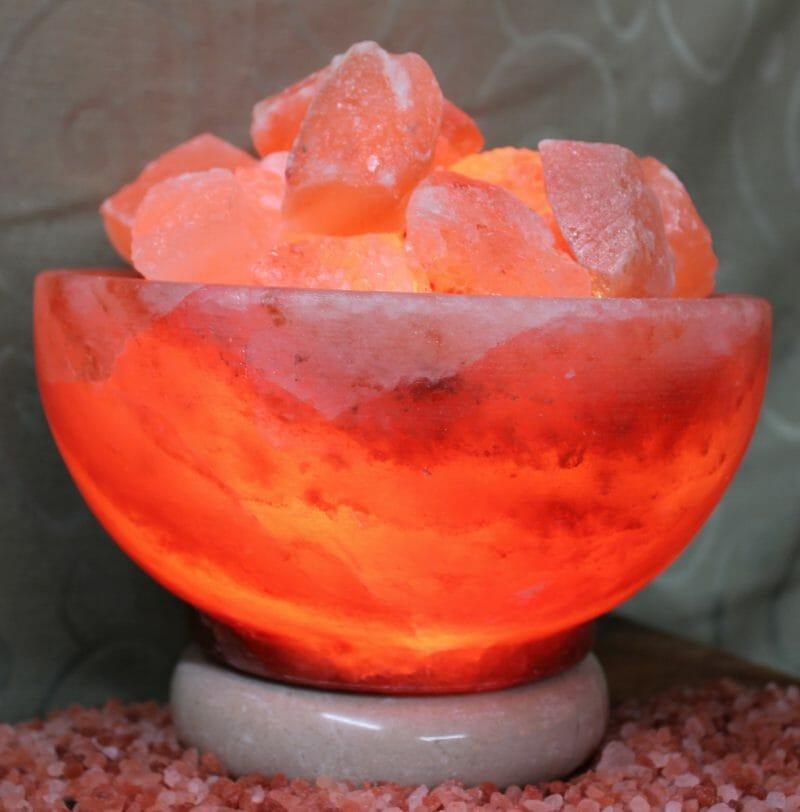 Himalayan Salt Lamp Fire Bowl : Fire Bowl Himalayan Salt Lamp (Medium) Himalayan Salt Factory