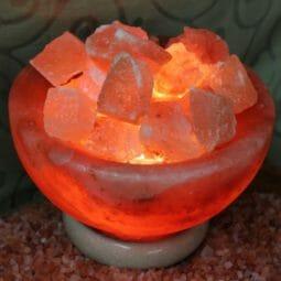 Fire Bowl Himalayan Salt Lamp (Medium)   Himalayan Salt Factory
