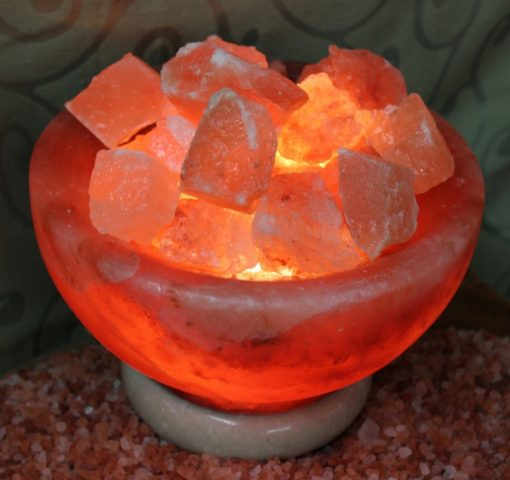 Fire Bowl Himalayan Salt Lamp (Medium) | Himalayan Salt Factory