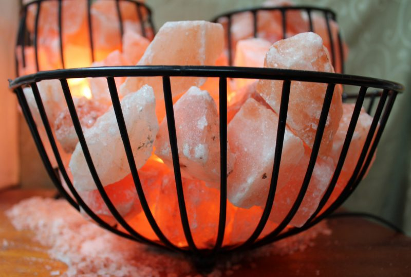Do Salt Lamps Cause Fires : Fire Cage with Salt Chunks (Large) Himalayan Salt Factory