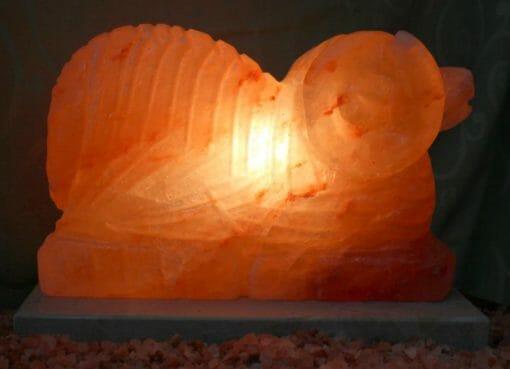 Crafted Himalayan Ram Salt Lamp | Himalayan Salt Factory
