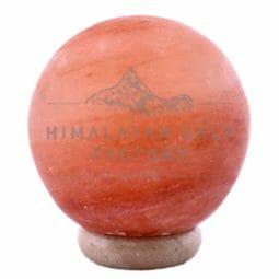 Sphere Salt Lamp (8'' Large)   Himalayan Salt Factory