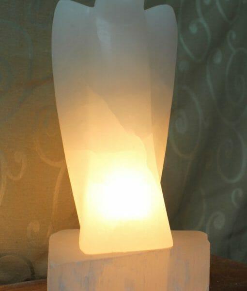Salt Lamps Healing Properties : Selenite Angel Lamp Himalayan Salt Factory